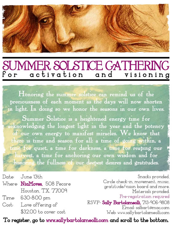 Summer Solstice Gathering