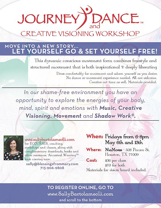 Journey Dance and Creative Visioning