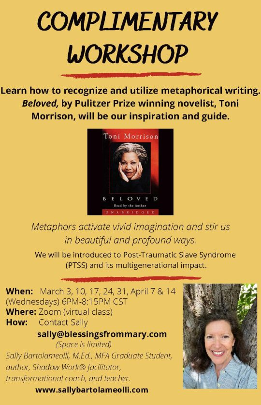 Metaphor Teaching Practicum Workshop Flyer